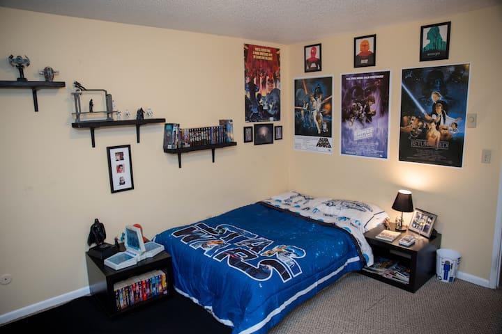 The Jedi Master Bedroom