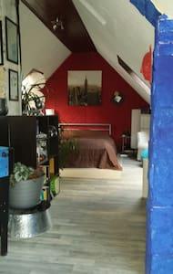 Ein großes offene Zimmer, 50qm - Talstraße 15 - บ้าน