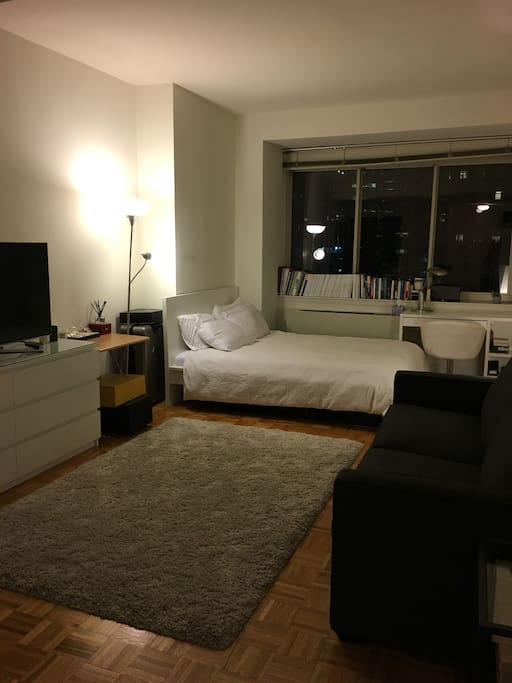 Charming studio by bryant park appartamenti in affitto a for Affitto monolocale new york