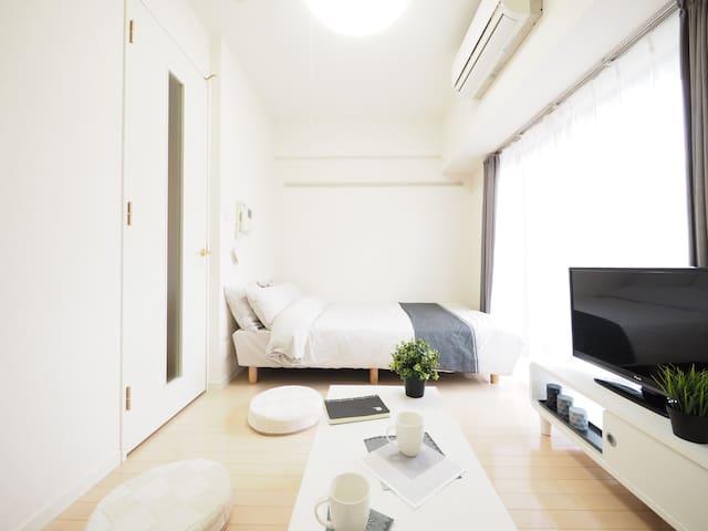 2min Ikebukuro/12min Shinjuku Studio + Mobile WiFi - Toshima-ku - Daire