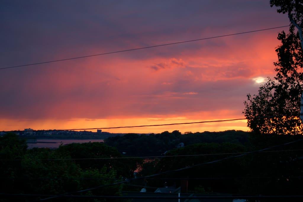 sunsets abound!