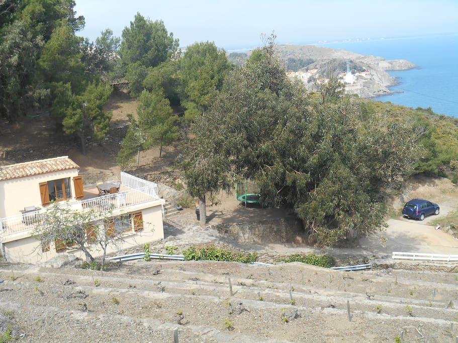 Maison 4 faces proche collioure chalets louer port - Maison de retraite la castellane port vendres ...