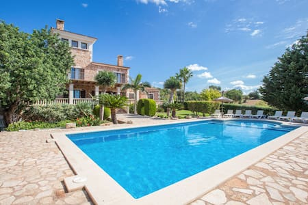 Can Palleta - Spacious villa with private pool - S'Horta