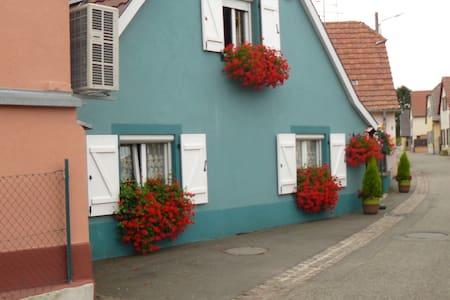 maison village pres colmar alsace - Andolsheim