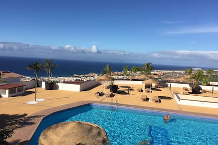 SUNSET BAY LUXURY WITH HEATED POOL - Costa Adeje - Appartement
