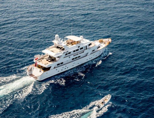 Superyacht Cabin for the Monaco GP - Mónaco - Barco