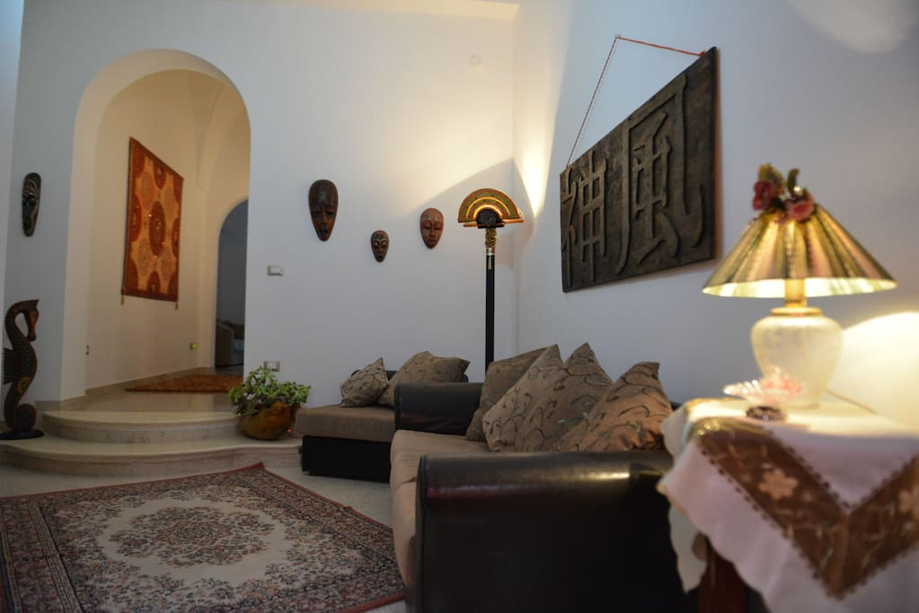 Salotto principale con divano letto per 1 persona con Wi-Fi p.2