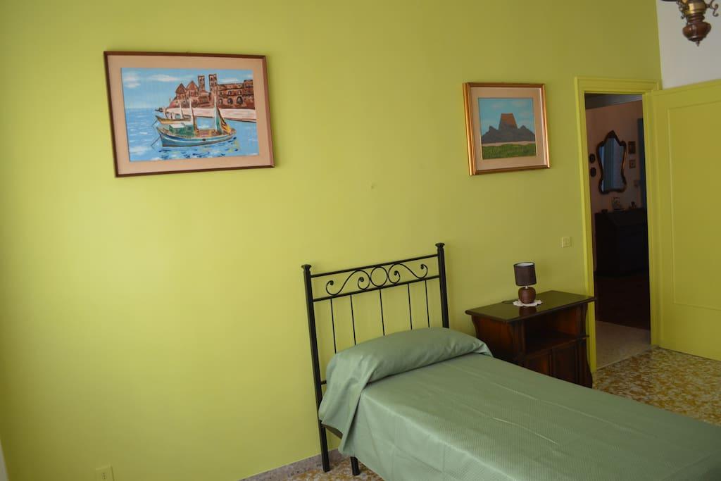 Camera da letto singole con possibilità secondo letto