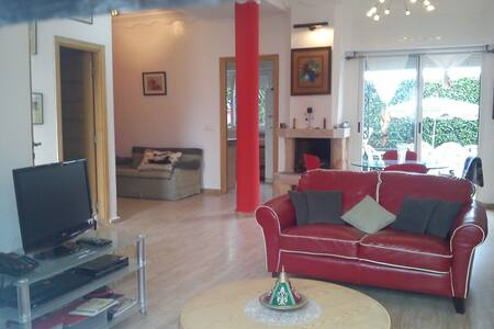 Modern Villa at Skhirat plage - Temara - Huis