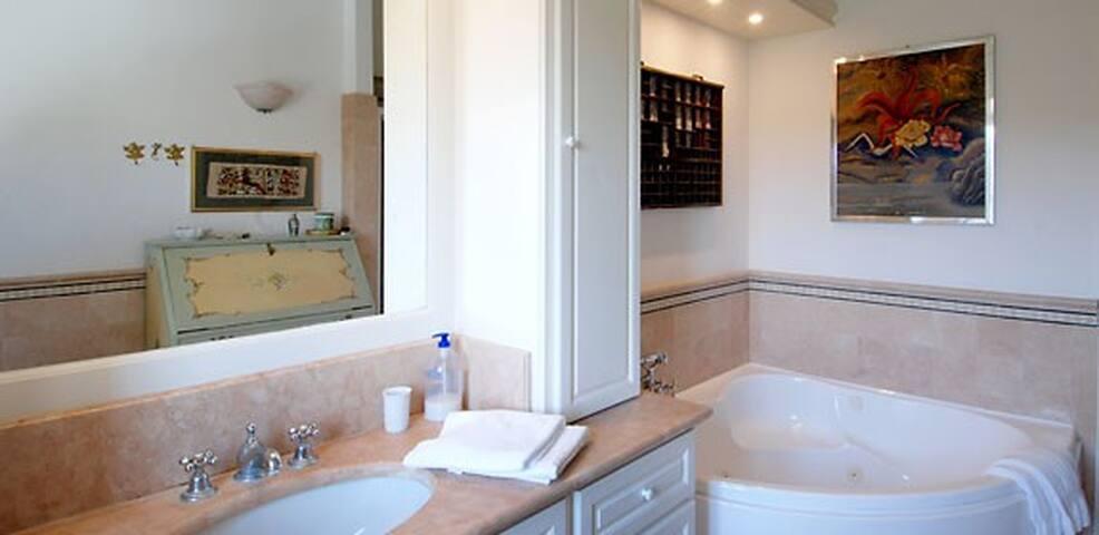 bathroom with Iacuzzi
