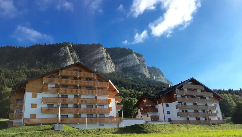 Duplex apartment near the piste