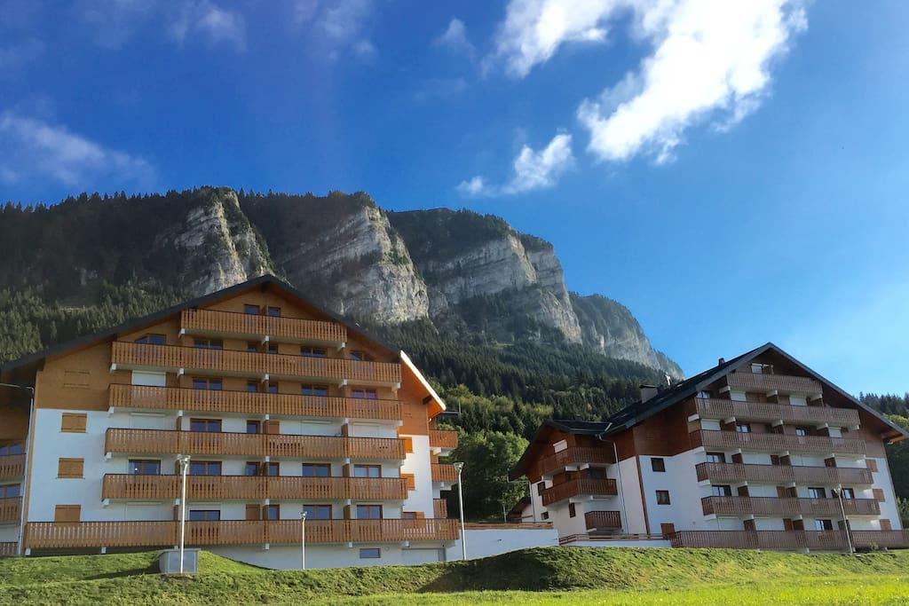 Brand new duplex near the piste appartamenti in affitto for Piani di casa francese in tudor