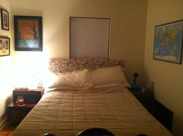Bedroom 2- this bed has a memory foam topper!