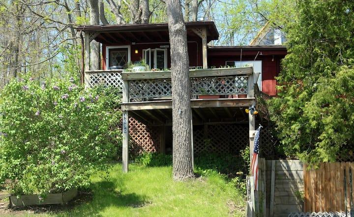 Kamp Kontent - The Tree House
