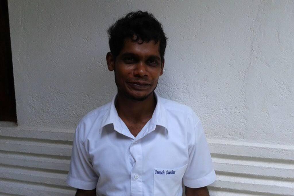 meet Chandana the receptionist