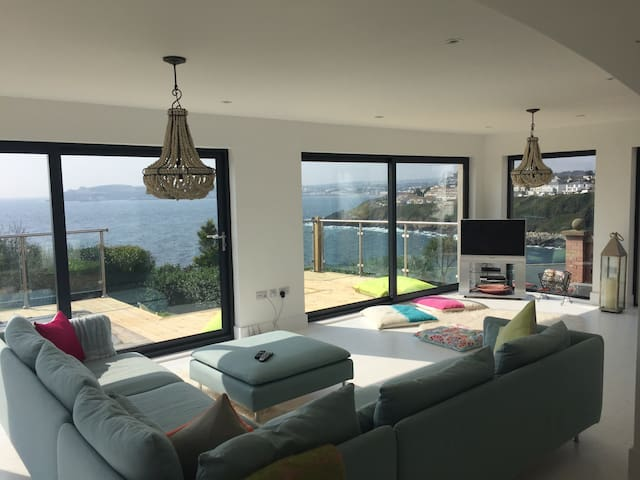 Stunning views, Modern Beach Chic - Onchan - Apartamento