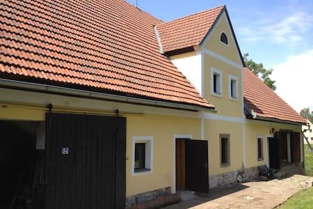 Romantische boerderij in de natuur - Vernéřovice