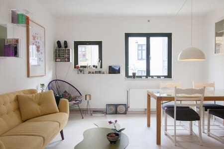 Cosy apartment w. balcony, in city - Frederiksberg - Apartment