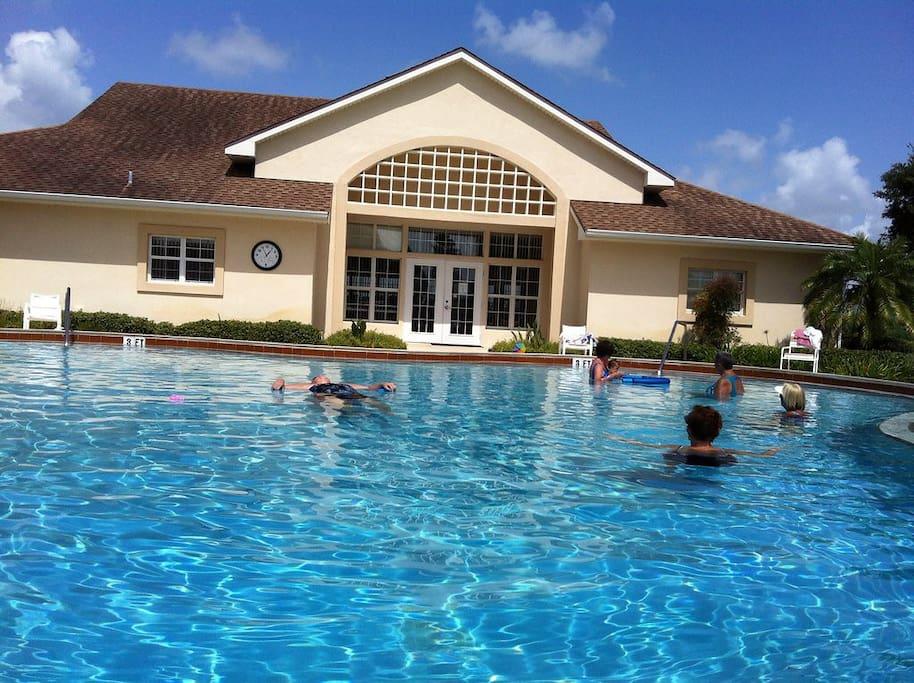 Great community pool
