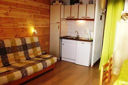 STUDIO 4 PERSONNES CENTRE STATION - Orcières - Apartament