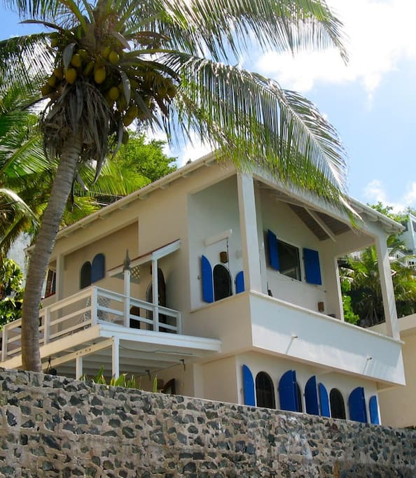 Ocean Front Casa Caribe showing lower Sea Level Unit