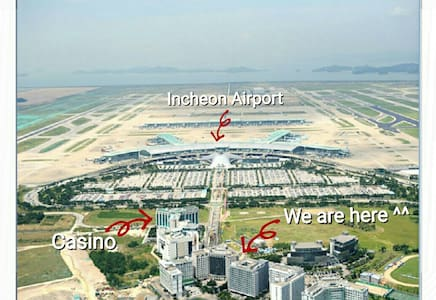 3mins from Incheon Airport. (Self Check-In) Studio - 중구 - Wohnung