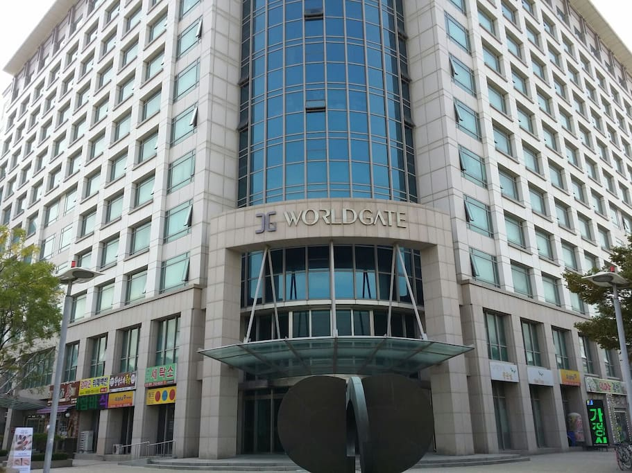 WORLDGATE is the name of our building. (Located next to Best Western Hotel)