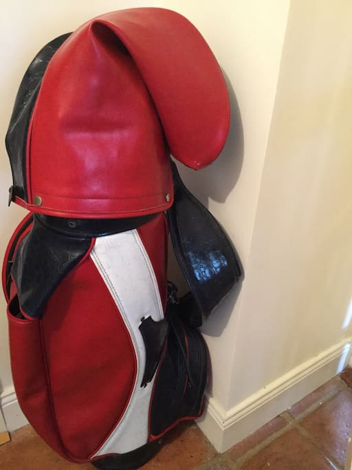 Golf Clubs for guests use