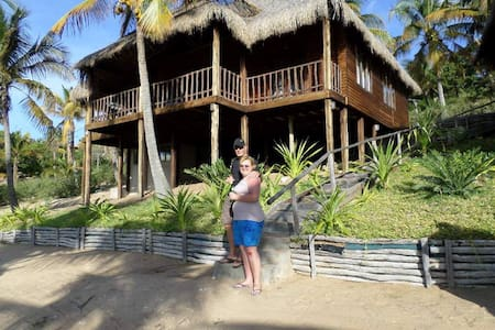 Self catering lodge at Barra Beach - Inhambane - Casa