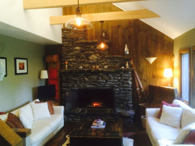 Quiet and relaxing Vermont getaway! - Rochester - Talo