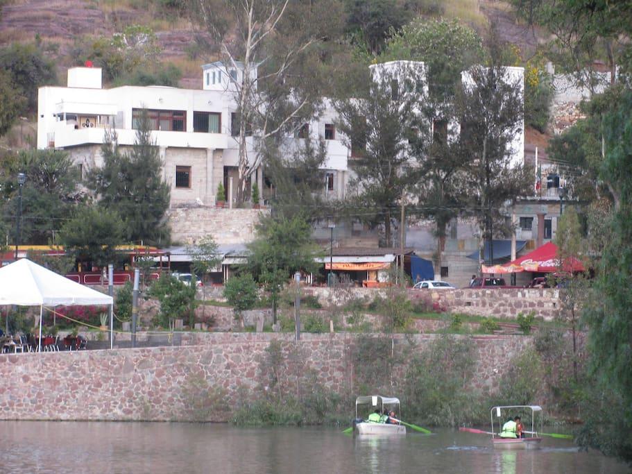 View from Presa de la Olla