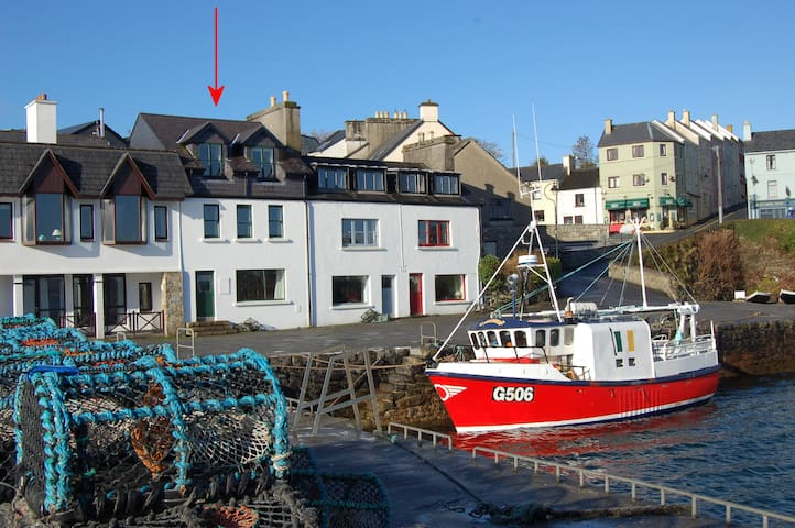 Quay House with Stunning Views - Roundstone - Casa