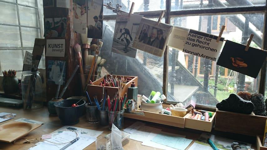 La Maison-Atelier de Patricia - Sainte-Marie-aux-Mines - House