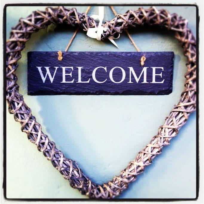 A warm welcome awaits