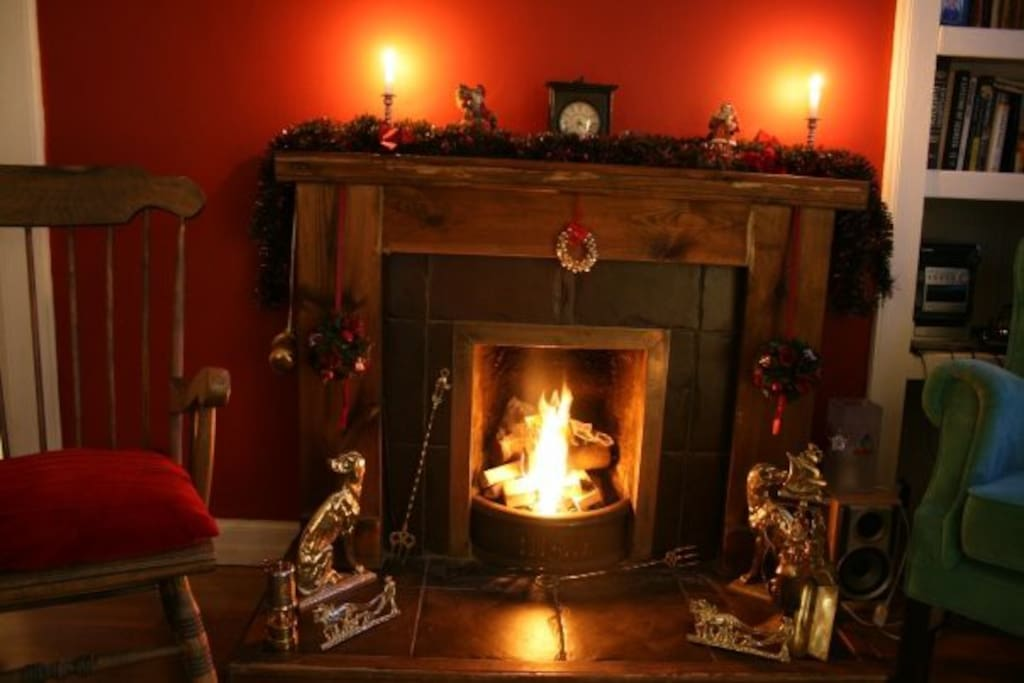 Christmas time in the sitting room
