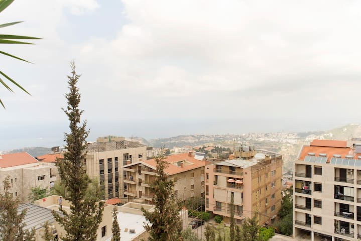 Charming flat with a great view/residential area! - Qornet Chahouane - Apartamento
