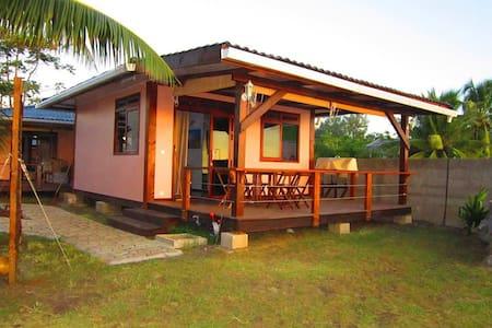 Tahiti Surf Beach Paradise Matahina - Paparā - Bungalow