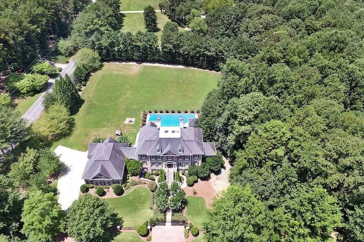 Casa VanBauer in Acworth- Spectacular 2.5 acre state with over 13,250 sq. ft of living space.