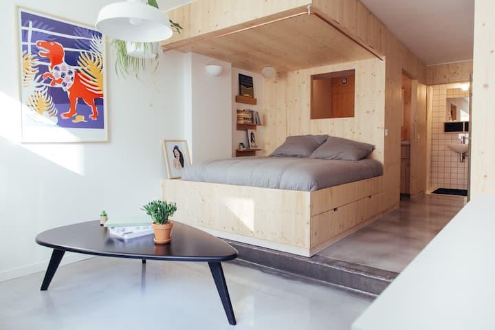 Design Loft In Central Paris