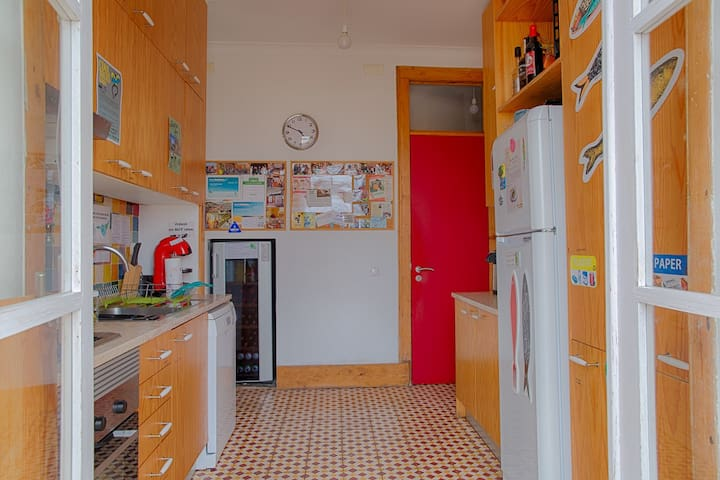 Common kitchen fully equipped