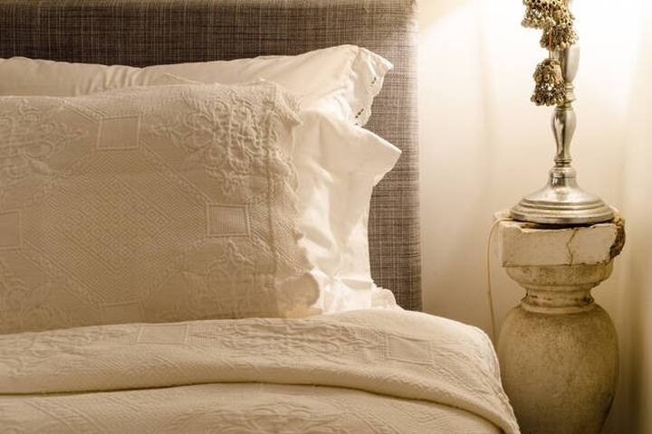 Nice cotton sheets.