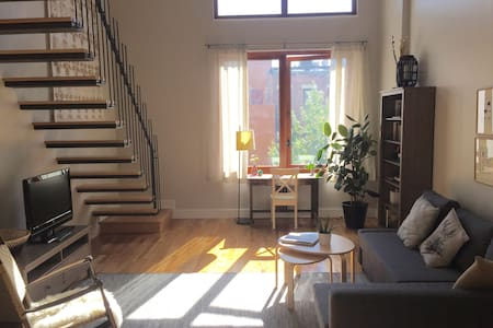Sunny Duplex with Private Roof Deck
