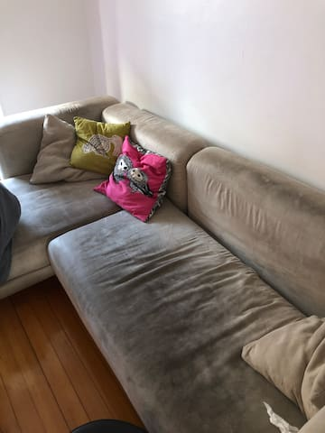 Canapé dans appartement