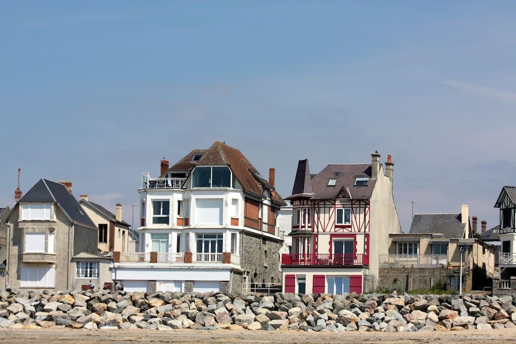 La Marjearice côté plage