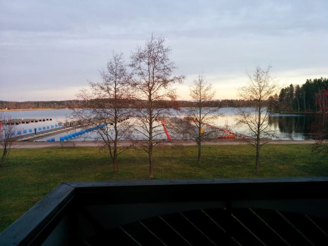 Relaxing lake house west of Tampere - Tampere - Haus