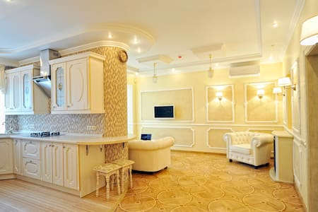 The apartment in the Center of Kiev