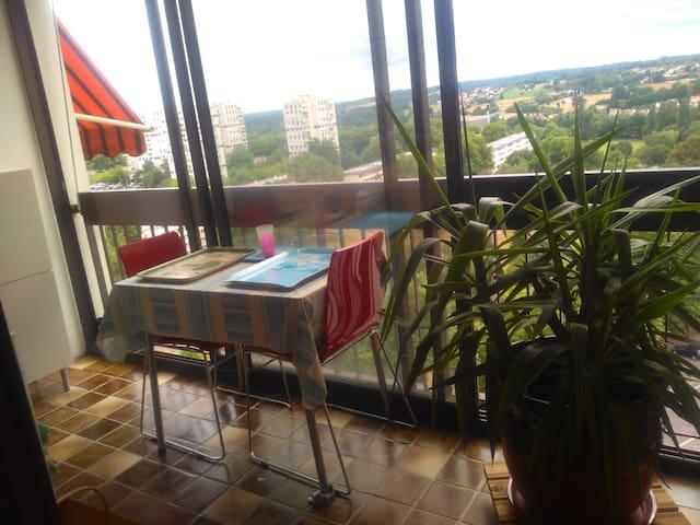 La ville à la campagne - Limoges - Apartment