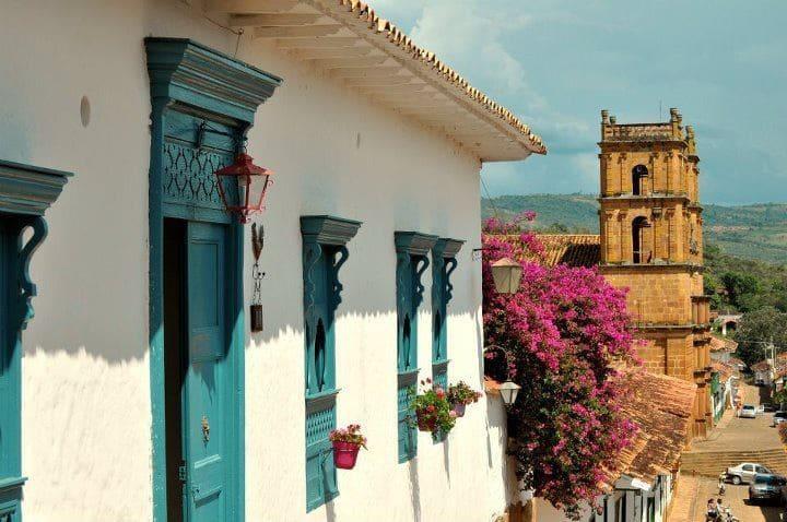 Casa Azul Barichara