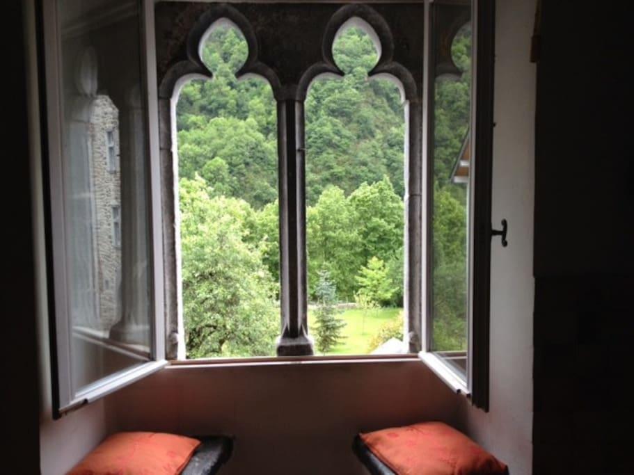 La fenêtre de la cuisine:voyage dans le temps