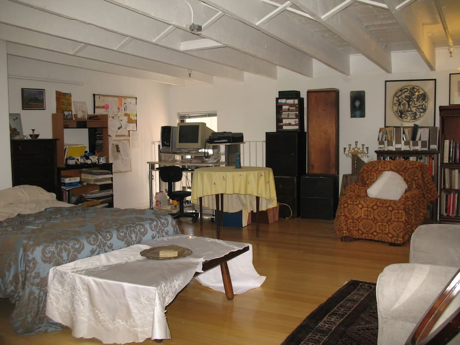 Loft space/bedroom/office/sitting area